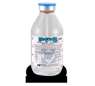 PPS Sitratlı Vakumlu Cam Şişe - Vakumlu Cam Şişeler - Ozon Sağlık Hizmetleri