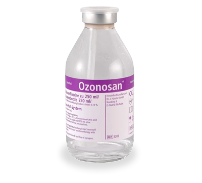 Dr. Hansler Ozonosan with Citrate - Vacuum Glass Bottles - Ozon Health Services